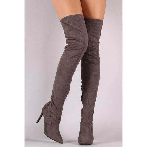 cb04c9f006b NIB Over the knee thigh high boots